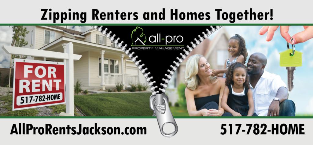 All Pro Realty Property Management Jackson Mi